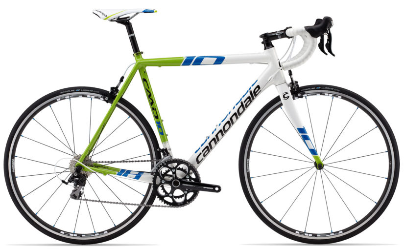 2013 Cannondale CAAD10 Liquigas team colors