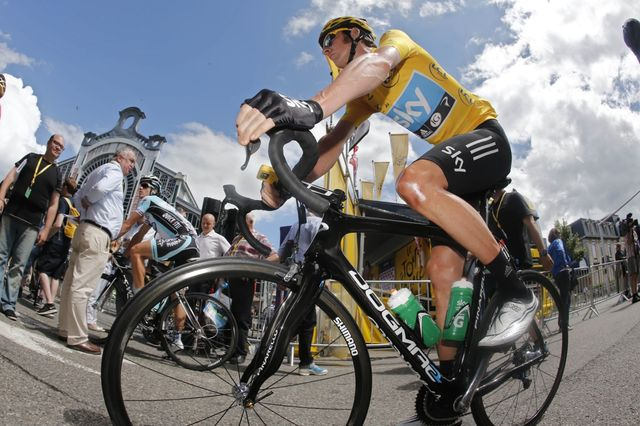 Bradley Wiggins Tour de France 2012 Dura-Ace 9000