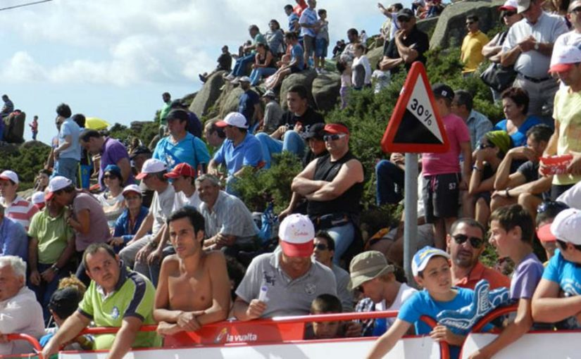 Mirador de Ézaro, the steepest climb in the bike racing history