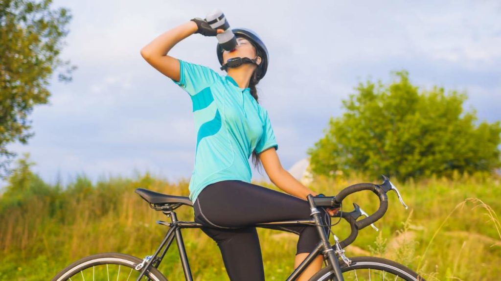 Hydration while cycling