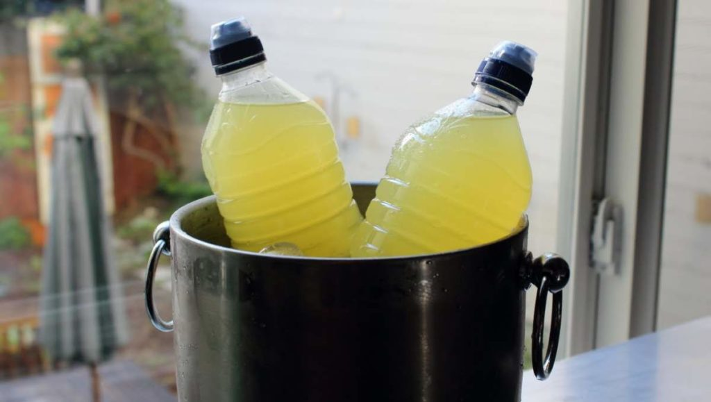 homemade isotonic sports drink