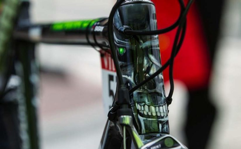 Peter Sagan's Cannondale SuperSix Evo Tourminator