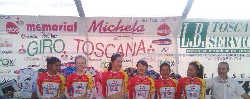 Colombian Women's cycling team