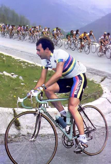 Moreno Argentin at the 1987 Giro d'Italia