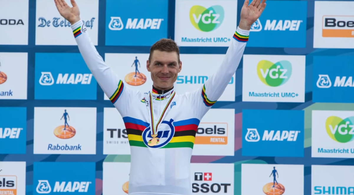 Tony Martin 2012 Time Trial World Champion