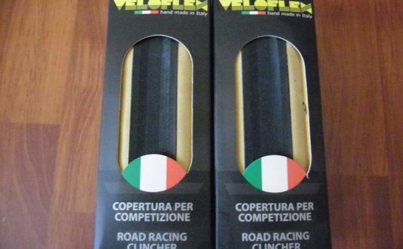 Veloflex Master 700x23c clincher tires - Handmade in Italy