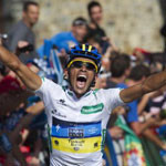 Vuelta a España Stage 17: Contador wins and takes the Red Jersey