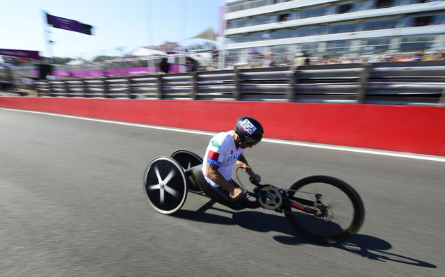 Alex Zanardi, London 2012 Paralympics