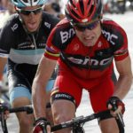 Cadel Evans and Andy Schleck