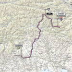 Giro d'Italia 2013 stage 10 map