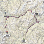 Giro d'Italia 2013 stage 15 map