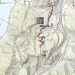 Giro d'Italia stage 18 map