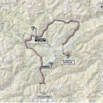 Giro d'Italia 2013 stage 19 map