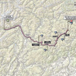 Giro d'Italia 2013 Stage 20 map