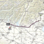 Giro d'Italia 2013 stage 21 map
