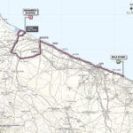 Giro d'Italia 2013 stage 6 map
