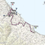 Giro d'Italia 2013 stage 7 map