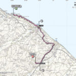 Giro d'Italia 2013 Stage 8 map