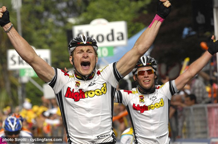 Top 10 worst cycling jerseys: High Road 2008