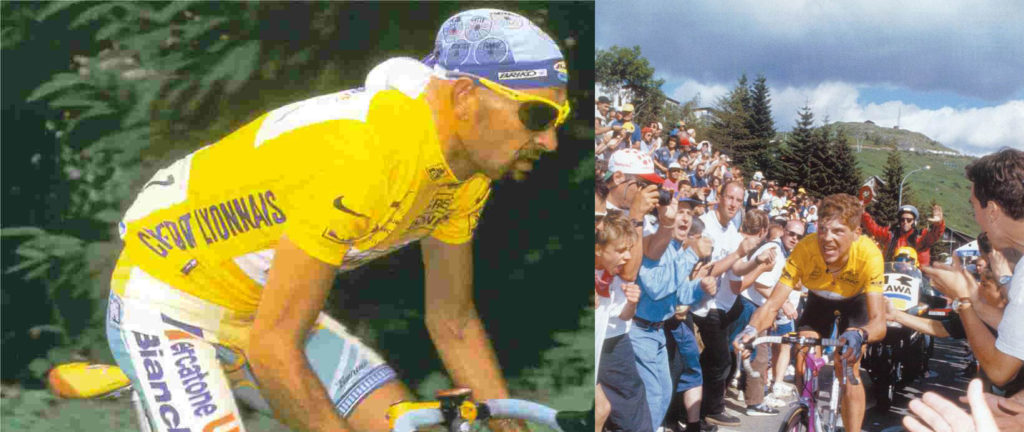 Top 10 tips to climb better and faster: Marco Pantani Jan Ullrich