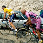 Marco Pantani and Lance Armstrong duel on Mont Ventoux, Tour de France 2000
