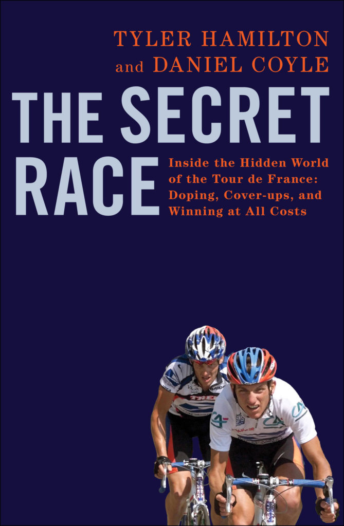 The cover of Tyler Hamilton The Secret Race