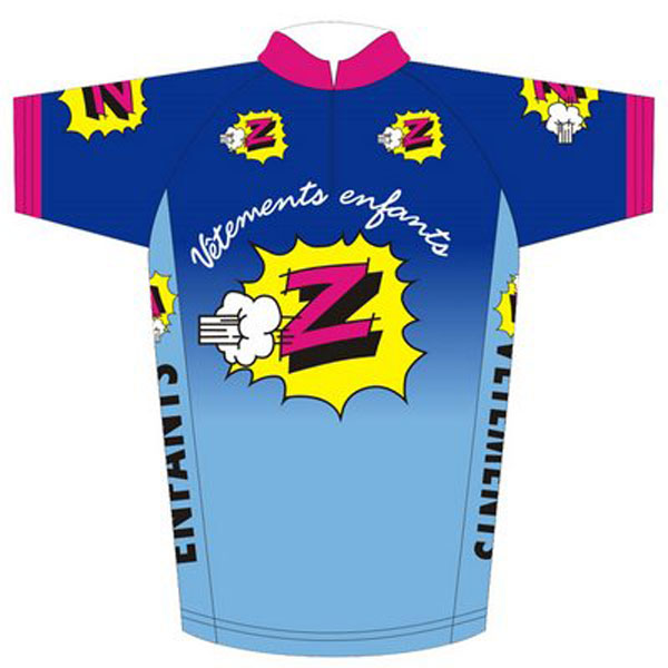 Z-Tomasso Team Jersey 1990 - Cycling Passion 0a66fc6b4