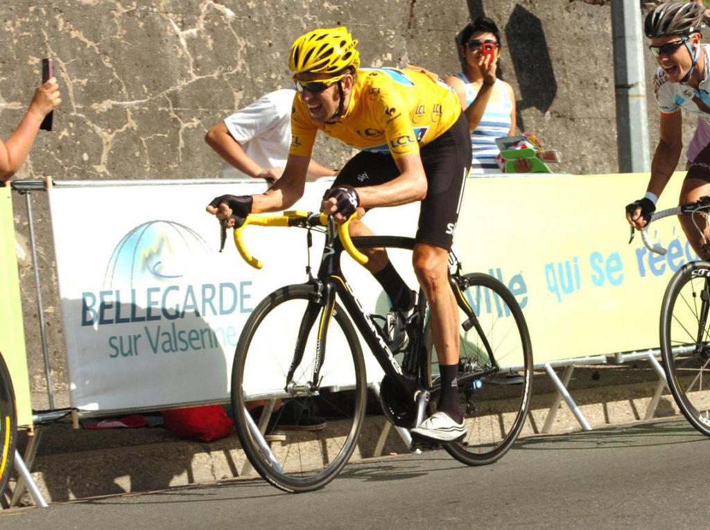 Gallery of Vélo d'Or winners (2010-2019): Bradley Wiggins