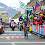 Thomas de Gendt wins on Passo dello Stelvio, Giro d'Italia 2012 stage 20
