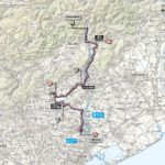 Giro d'Italia 2013 stage 12 map