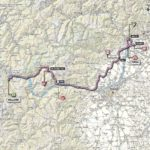 Giro d'Italia 2013 stage 16 map
