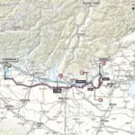 Giro d'Italia 2013 stage 17 map