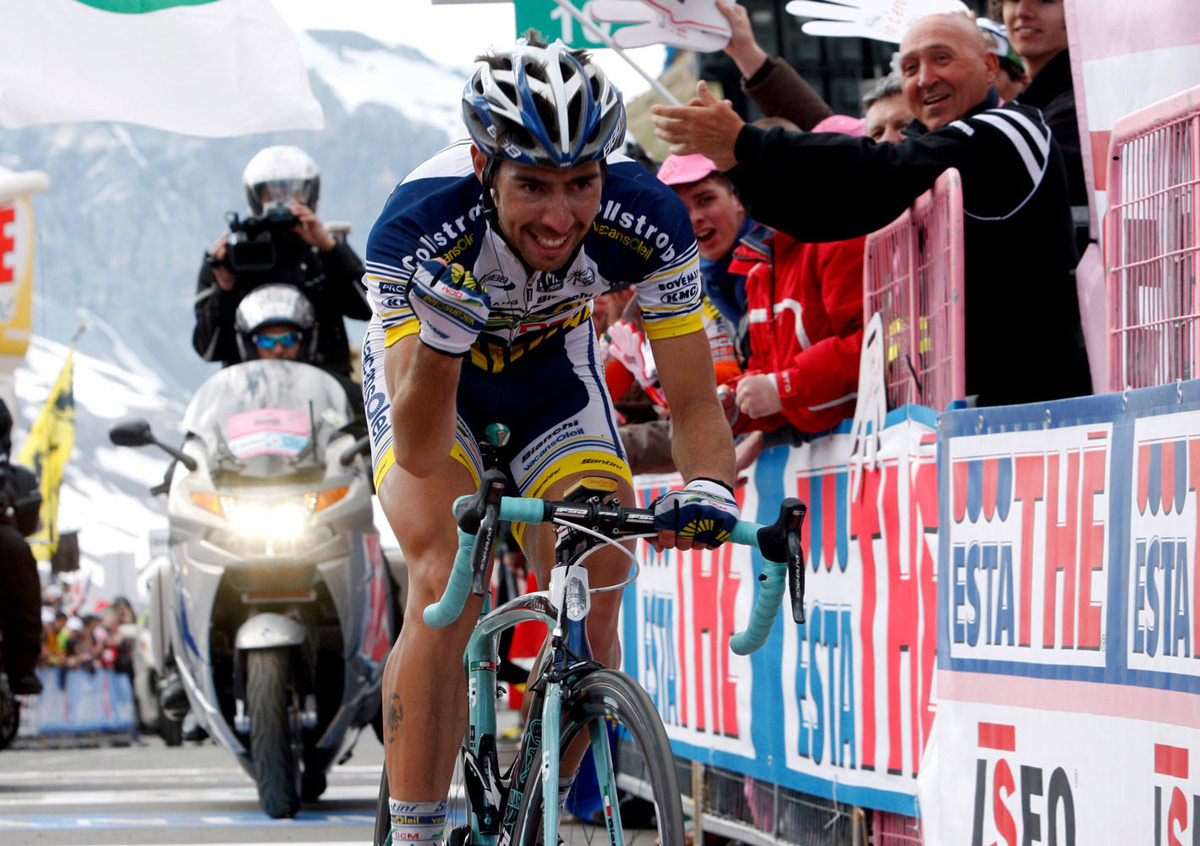 Thomas De Gendt wins on Passo dello Stelvio, Giro 2012