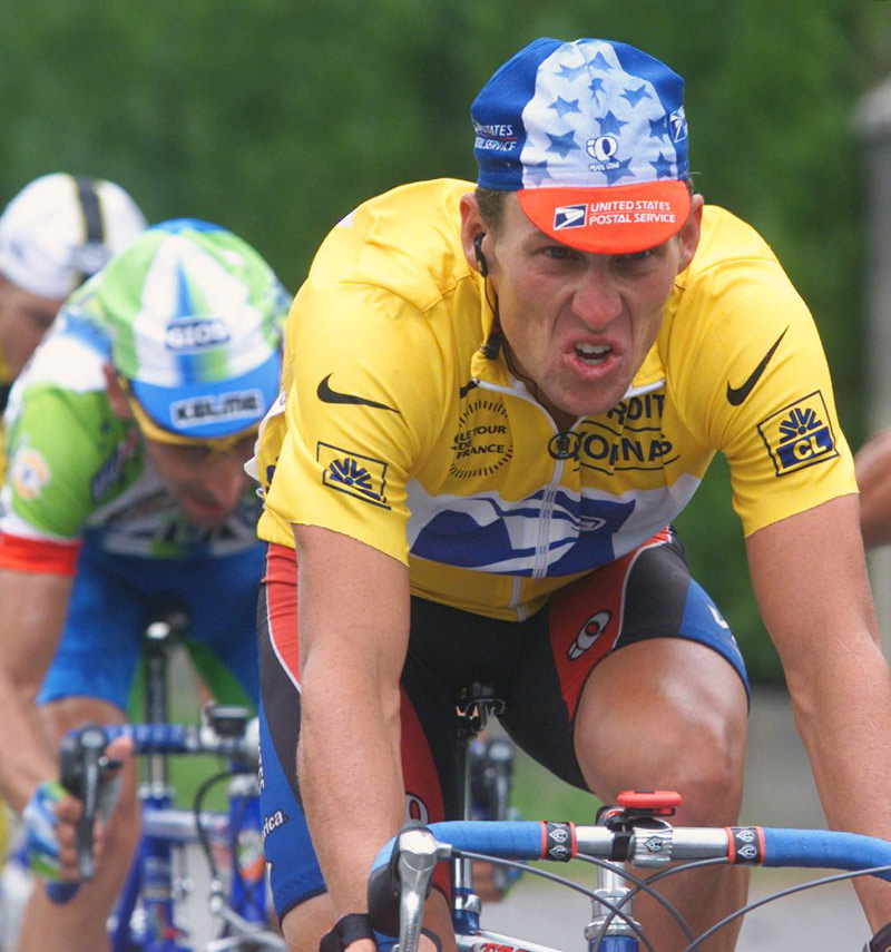 Gallery of Vélo d'Or winners (1992-1999): Lance Armstrong