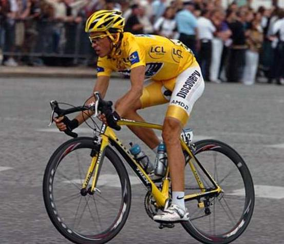 Vélo d'Or winners (2000-2009): Alberto Contador at 2007 Tour de France