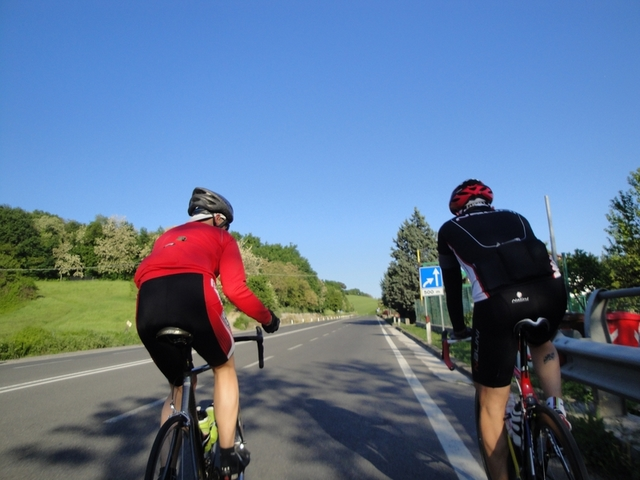Cycling Tour in Italy, road to Pesaro