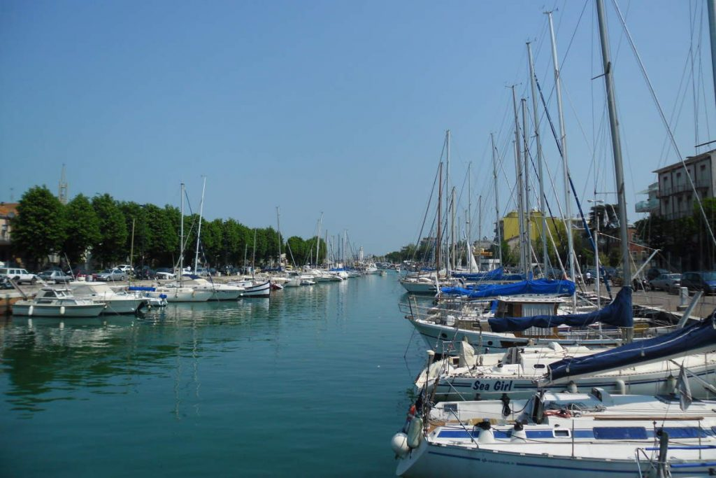 Cycling tour in Italy: Rimini Canal (Canale di Rimini)