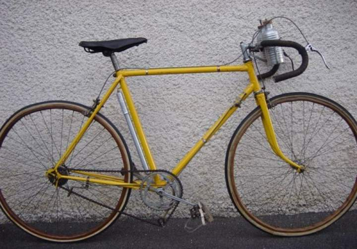 Roger Lapébie's (Mercier-Hutchinson) Tour de France 1937 winner bike