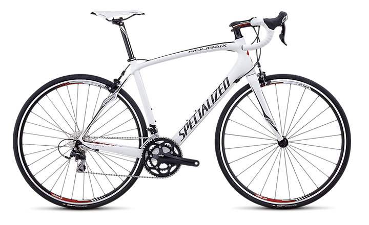 Specialized Roubaix 2013 Elite Compact White/Charcoal/Red