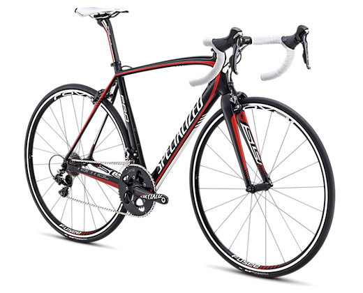 Specialized Tarmac 2013 SL4 Pro Mid Compact Blue/Black/White Carbon/White/Red