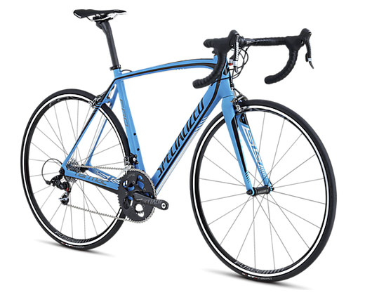 Specialized Tarmac 2013 SL4 Pro SRAM Mid Compact Blue/Black/White