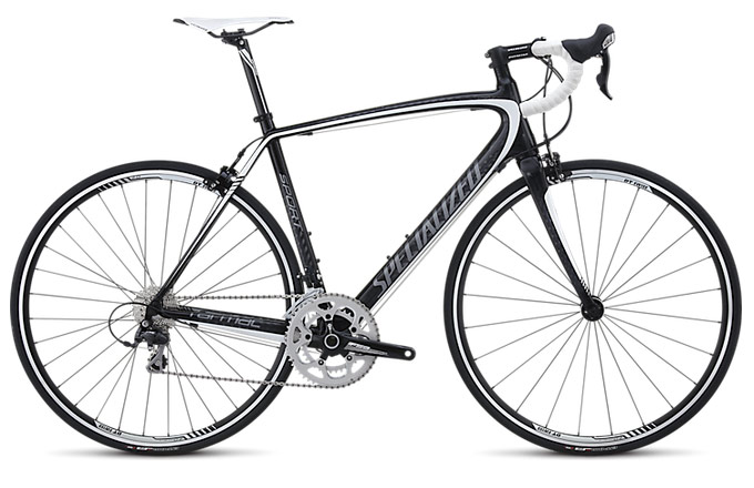Specialized Tarmac 2013 Sport Mid Compact Carbon/Charcoal/White