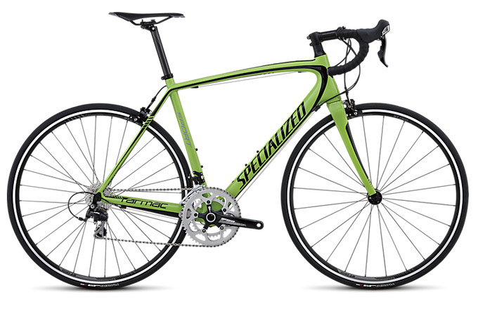 Specialized Tarmac Sport Mid Compact Green/Black
