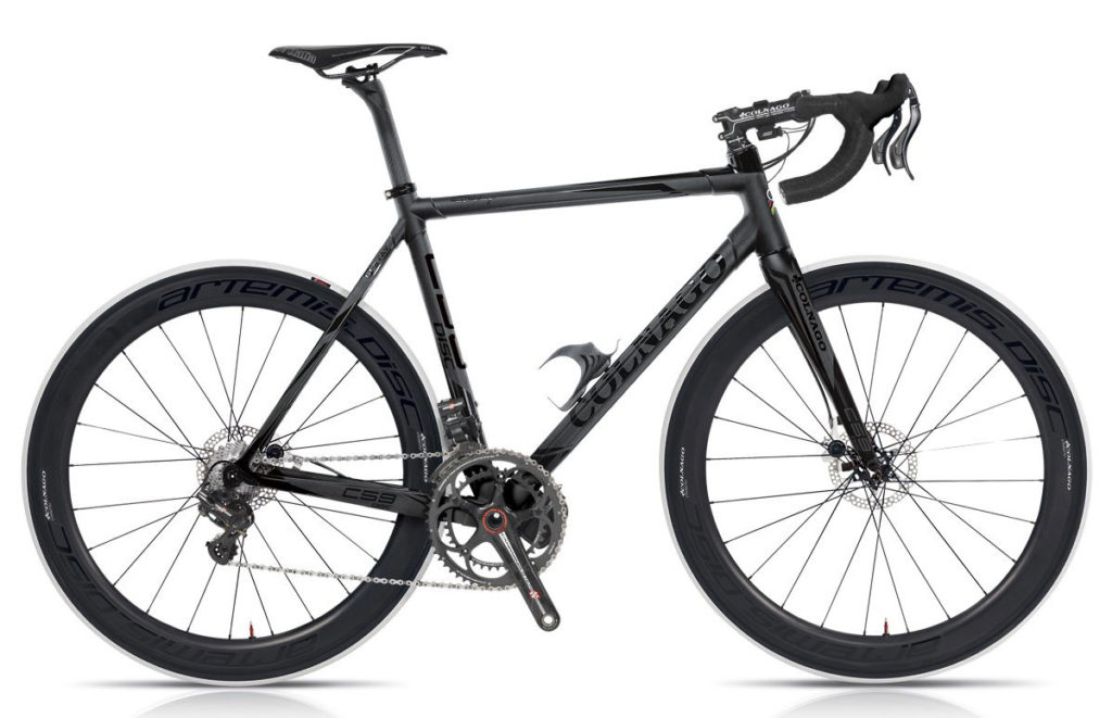 Colnago C59 Disc 2013 (Flat Black/Gloss Black Graphics), Campagnolo EPS