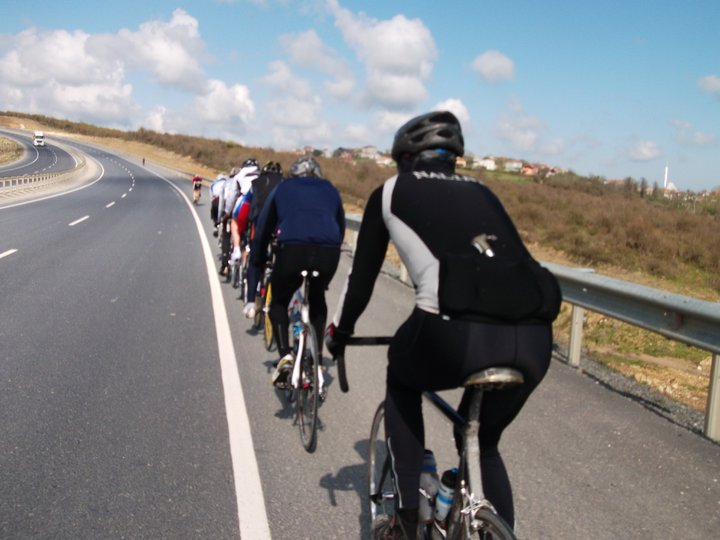 Group riding tips