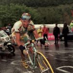 Marco Pantani on Col du Galibier