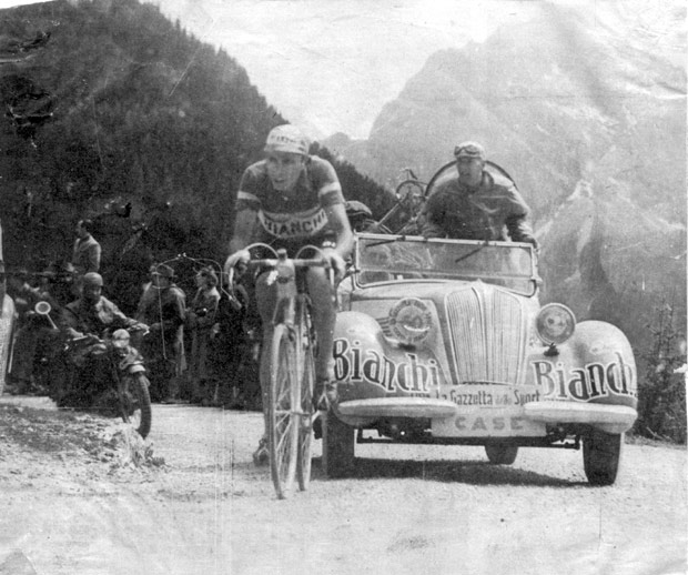 Giro d'Italia History rated by a panel of 100 journalists: Fausto Coppi at Giro d'Italia 1949