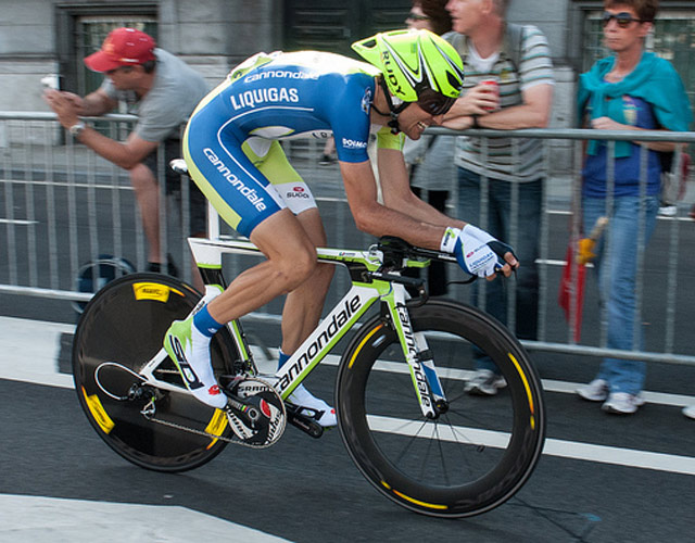Ivan Basso, Tour de France 2012 Prologue,Cannondale Slice RS SRAM Red