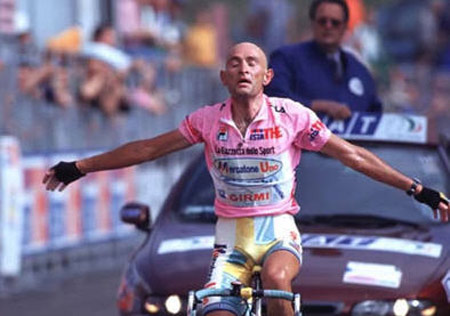 Giro d'Italia History rated by a panel of 100 journalists: Marco Pantani at 1998 Giro