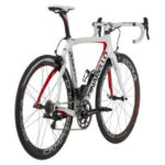 Pinarello Dogma 65.1 Think 2 2013 851 FP50 Bianco, rear view